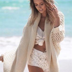 Sabo Skirt Cleo Loose Knit Boho Beach Cardigan